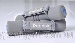 Гантели Reebok RAEL-11061GR 1Kg, фото 2