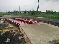 Весовая платформа колейного типа 8 м 60т
