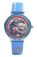 Детские наручные часы Baosaili z-0044 Супер герои Deep blue (Капитан Америка)