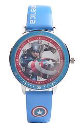 Детские часы Baosaili z-0044 Супер герои Deep blue (Капитан Америка)