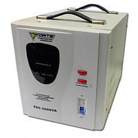 Сервоприводный стабилизатор Forte SDC-5000, однофазный (5 кВт)