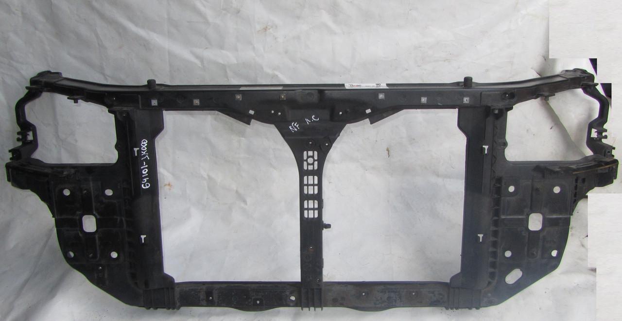 Передняя панель телевизор Hyundai Sonata NF 2.4 2006-2008  641013K000 641013K001