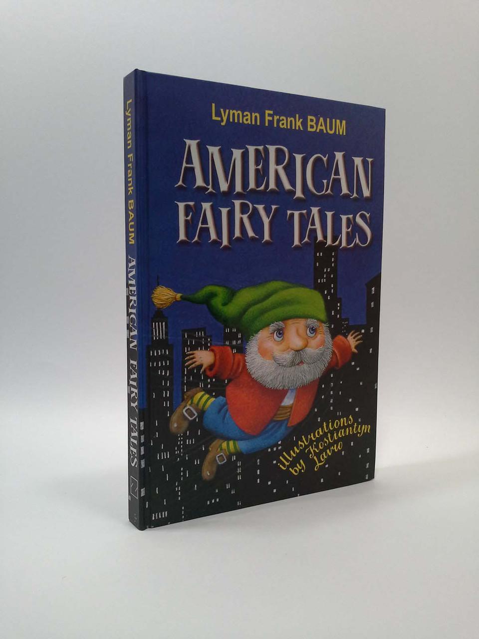 Знання Treasure box for kids American Fairy Tales Американські казки Баум (ТВ)