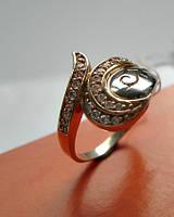 Женское золотое кольцо 3.87 грамма 19 размер ЗОЛОТО 585 пробы, фото 1