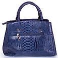 Женская сумка AMELIE GALANTI A981136-blue кожзам синяя, фото 2