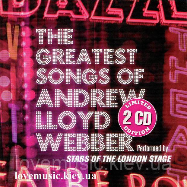 Музичний сд диск ANDREW LLOYD WEBBER The greatest songs of Andrew Lloyd Webber (2007) (audio cd)