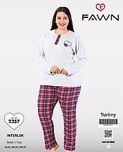 Жіноча піжама великих розмірів