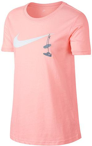 Футболка женская Nike SHOES EMBRD (оригинал)