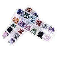 3000 стразов для ногтей, нейл-арт, маникюр, 12 цв 2000-02810