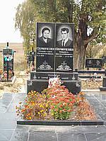 Пам'ятники гранітні на двох