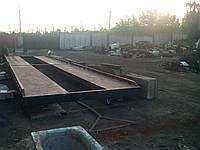 Весовая платформа колейного типа 12 м 60т, фото 1