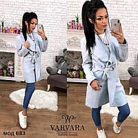 Пальто стильное из кашемира женское Сьюзи 89