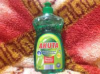 Моющее для мытья посуды Akuta зеленое яблоко 0,500ml.Германия. , фото 1