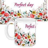 Кружка подарок с принтом Идеальный  (33257)