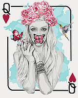 Картина по номерам - Женская игра