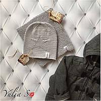 Вязанная шапочка и хомут. Ручная вязка., фото 1
