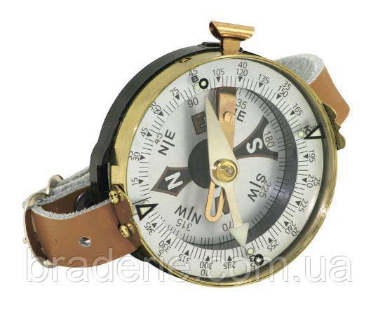 Компас наручный с кожаным браслетом TSC-3