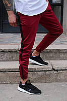 Мужские спортивные штаны бордовые от бренда ТУР модель Рокки