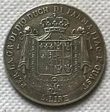Италия 5 лир 1815 год  Мария Лючия, фото 2