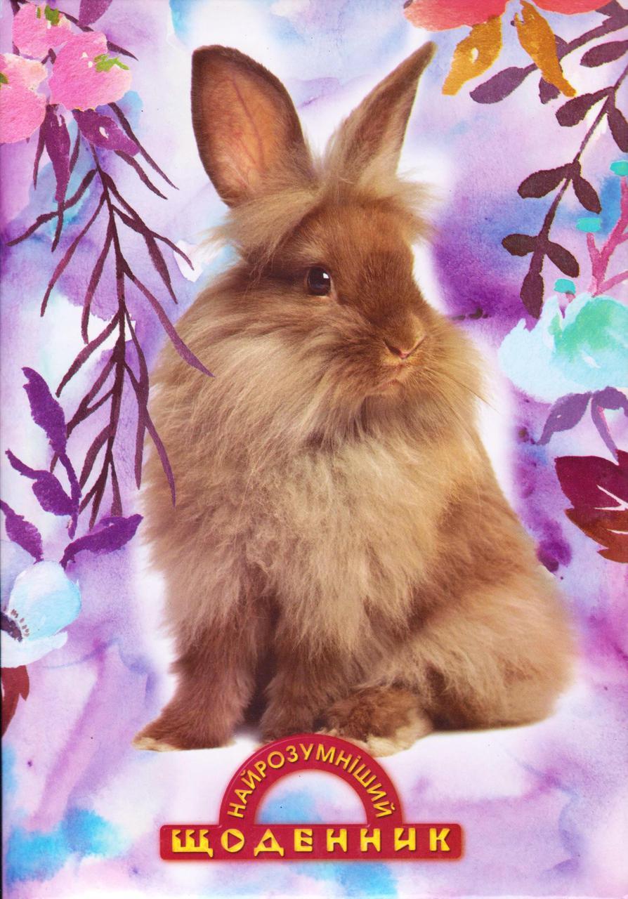 """Щоденник шкільний поролон """"Кролик"""""""