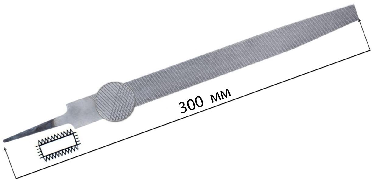 Напильник плоский 300мм