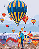 Картина по номерам - Воздушные мечты
