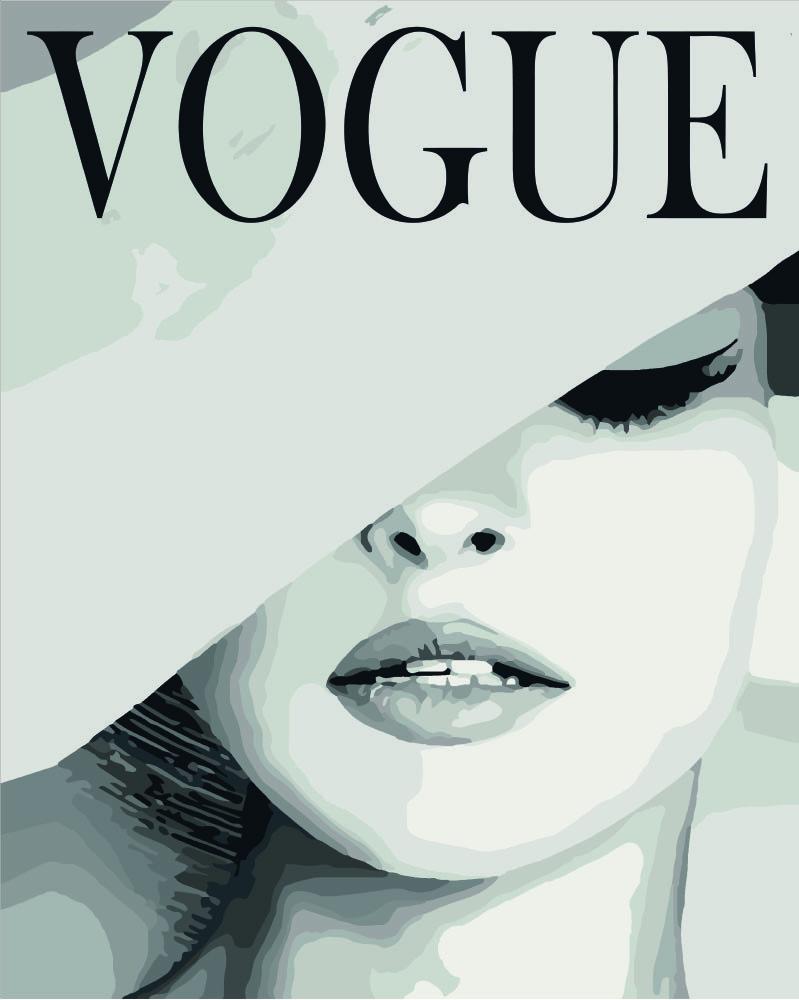 Картина по номерам - VOGUE