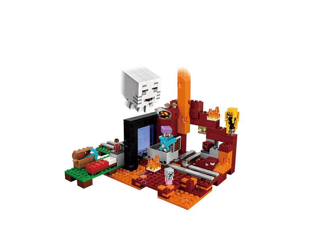 Конструктор Портал в подземелье, серия Кубический мир Minecraft
