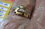 Золото 585 пробы Женское Кольцо 2.53 грамма 18 размер, фото 7