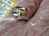 Золото 585 пробы Женское Кольцо 2.53 грамма 18 размер, фото 8