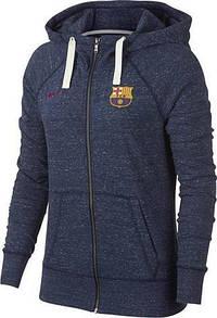Толстовка женская Барселона Nike FCB  VNTG HOODIE (оригинал)