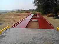 Весовая платформа колейного типа 16 м 60т
