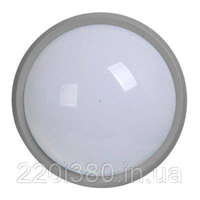 Светильник ДПО 1301 серый круг LED 6x6Вт IP54