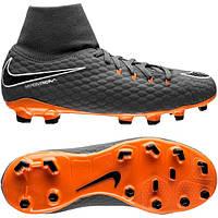 Футбольные детские бутсы Nike JR Hypervenom Phantom 3 Academy DF FG, фото 1
