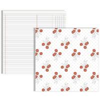 Бумага для скрапбукинга  Teresa Collins - Flowers, 30х30, SN1008, фото 1