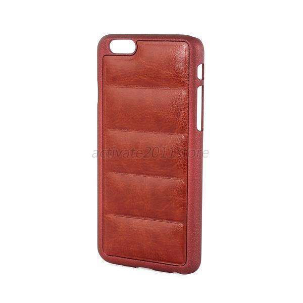 Пластиковый чехол c эко кожей для Iphone 6 6s, U28