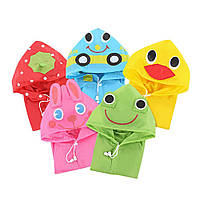 Яркий детский плащ дождевик - цвета в ассортименте