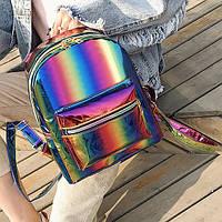 Модный голографический рюкзак радуга, цвета в наличии