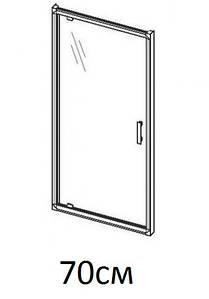 Душові двері 70см