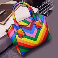 Сумка в стиле Givenchy радуга, цвета в наличии