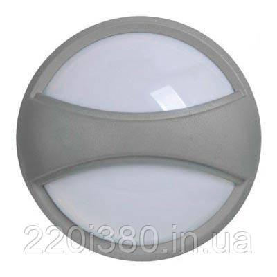 Светильник ДПО 1303 серый круг с пояском LED 6x6Вт IP54