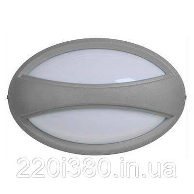 Светильник ДПО 1403 серый овал с пояском LED 6x6Вт IP54
