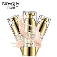 Увлажняющий антивозрастной крем для глазс натуральной жемчужной пудройBioAqua Pure Pearls 25 ml, фото 1