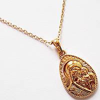 """Кулон ладанка """"Дева Мария"""" на цепочке. Позолота 18К. Ювелирная бижутерия Xuping Jewelry. , фото 1"""