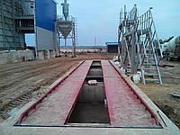 Весовая платформа колейного типа 18 м 60т, фото 1