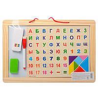Набор первоклассника MD 1106 34-23-2см (Woody) (Деревянная игрушка ), фото 1