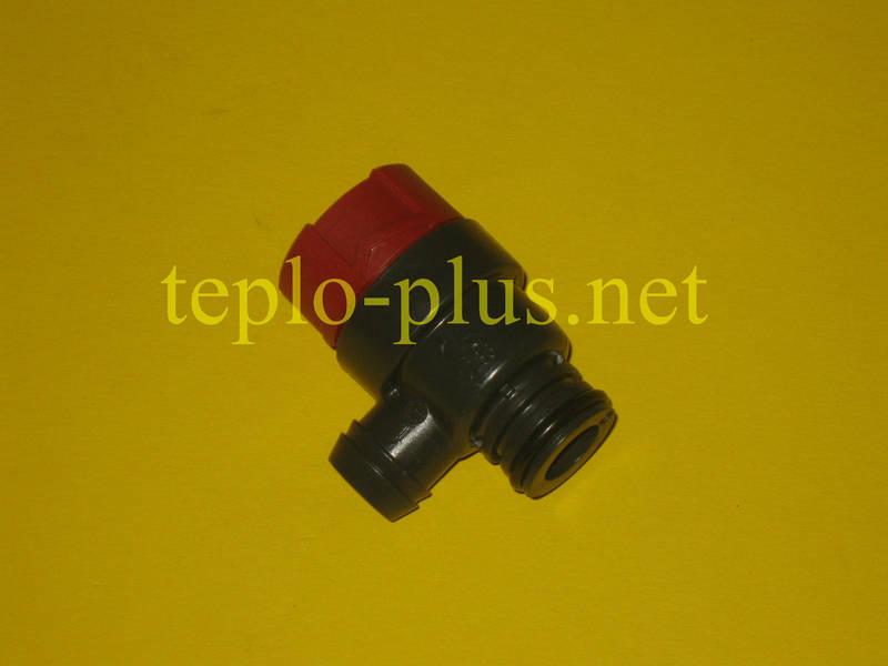 Предохранительный клапан 3 бар (клапан безопасности) 87160102470 Buderus Logomax U022-24K, U024-24K, U042-24K, фото 2