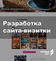 Разработка сайта-визитки