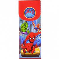 Пенал пластиковый разборной 20х7,5х2,5 см / Spiderman