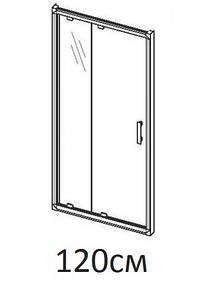 Душові двері 120см